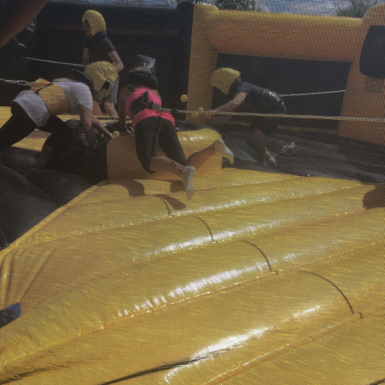 Leytonstone Office Summer yellow inflatable 2 2018 ...